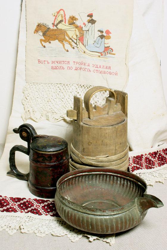 Варяк старинная мерная ёмкость (чан) для варения пива, рассчитанная на...